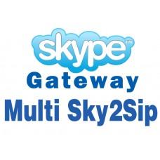 Skype Шлюз OpenVox Multi Sky2Sip