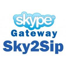 Skype Шлюз OpenVox Sky2Sip